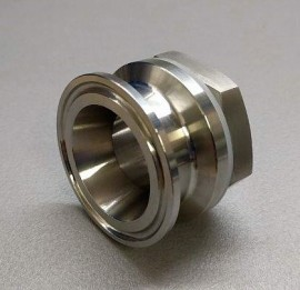 "Weldless 2"" Triclamp bulkhead"